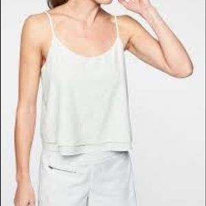 Athleta perforated FWS cami White XS